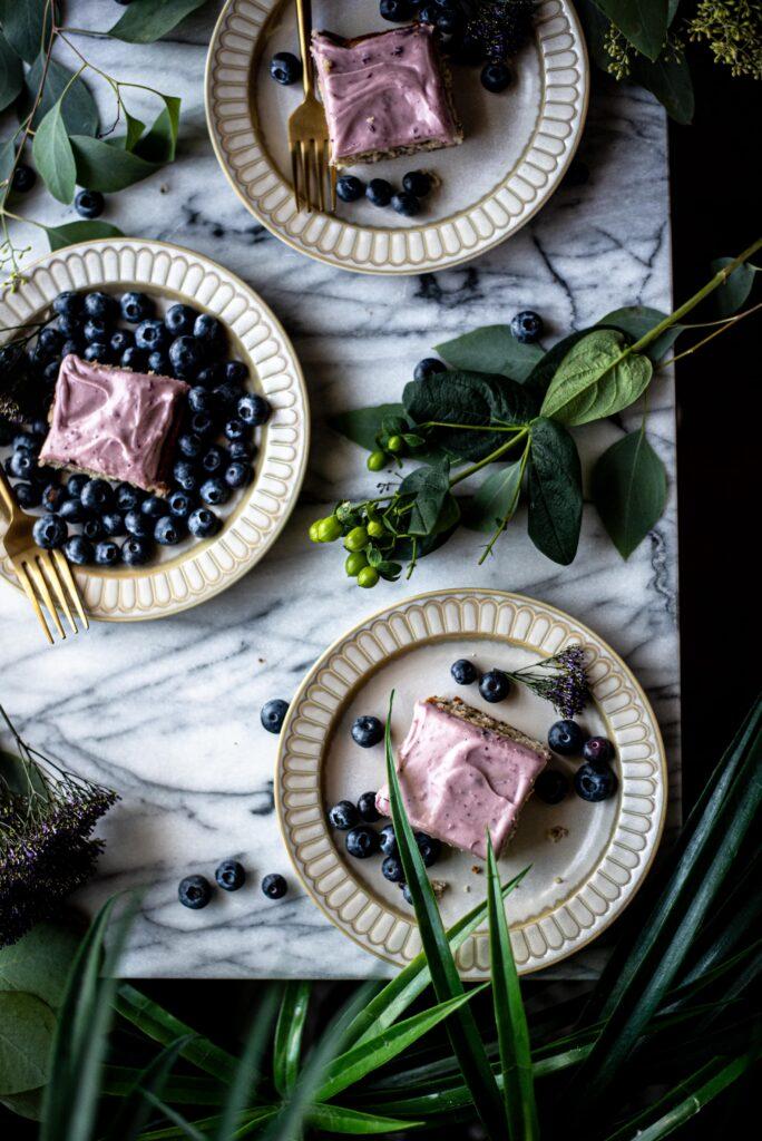 blueberry sheet cake