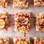 Caramel Apple Rice Krispy Treats